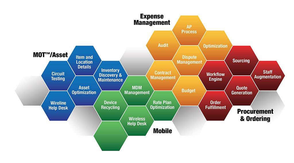 Telecom Expense Mangement Info Graphic