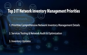 Top 3 IT Network Inventory Management Priorities Title